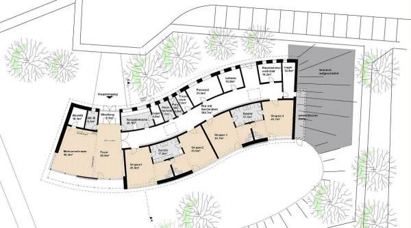 spielen im passivhaush gel neubau kindergarten am stadtpark heidenau. Black Bedroom Furniture Sets. Home Design Ideas